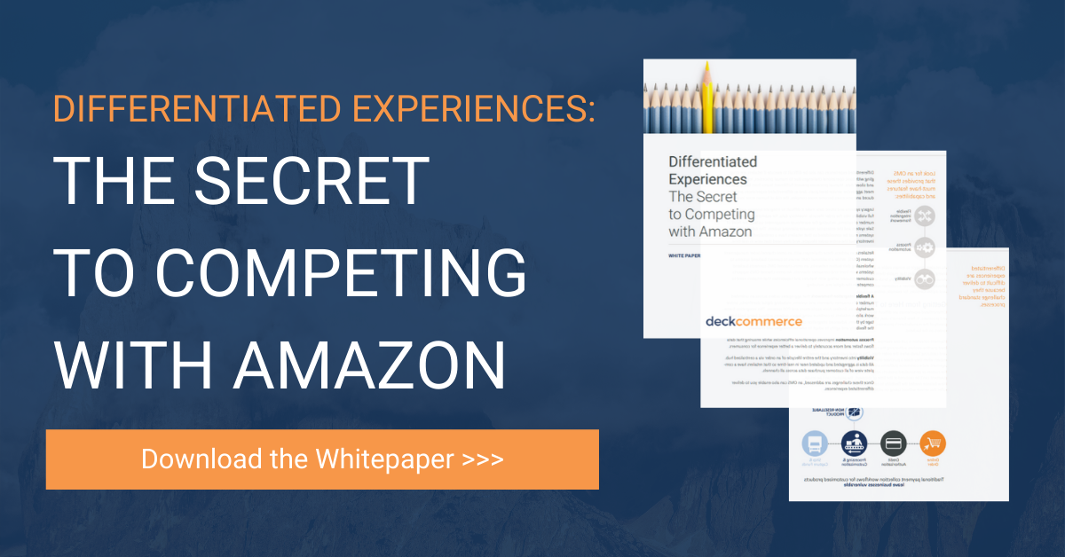 Download the secret to competing with Amazon